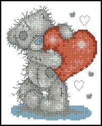 Мишки Тедди-Тедди с сердцем-Anchor