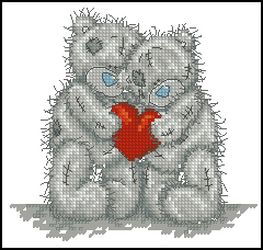 Мишик Тедди-Одно сердце на двоих-Anchor