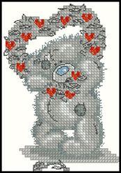 Мишки Тедди-С днём Святого Валентина-Anchor