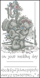 Мишки Тедди-Свадебное приглашение-Anchor