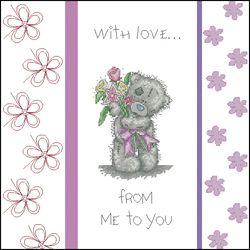 Мишки Тедди-Поздравительная открытка-Anchor