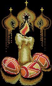 Пасхальная свеча-Чаривна Мить