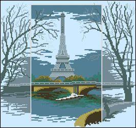 Эйфелева башня-Чаривна Мить
