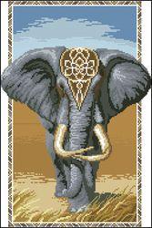 Индийский слон-Чаривна Мить