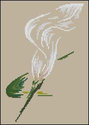 Воздушная лилия-DMC