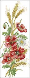 Осенние цветы-DMC