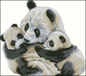 Панды-Мамина любовь-DMC