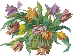 Букет тюльпанов-DMC