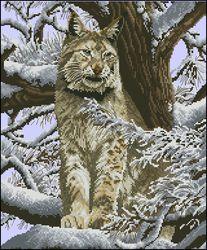 Снежная рысь-DMC