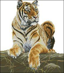 Гордый тигр-DMC
