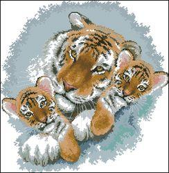 Тигриная семья-DMC