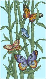 Бамбук и бабочки-Dimensions