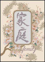 Иероглиф - семья-Dimensions