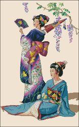 Японские леди-Dimensions