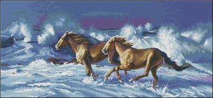 Бегущие лошади-Dimensions
