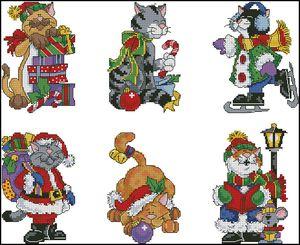 Рождественские коты-Dimensions