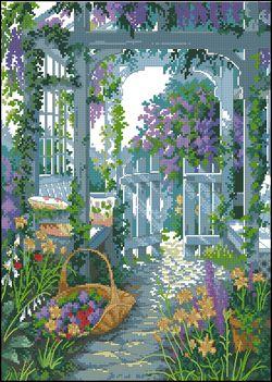 Ворота в сад-Dimensions