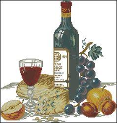 Сыр и красное вино-Eva Rosenstand