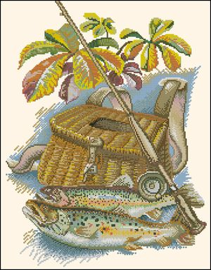 Трофеи рыбака-Eva Rosenstand