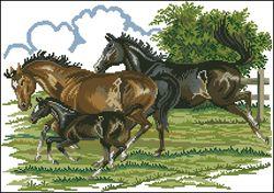 Бегущие лошади-Eva Rosenstand