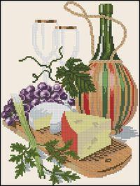 Сыр и вино-Eva Rosenstand