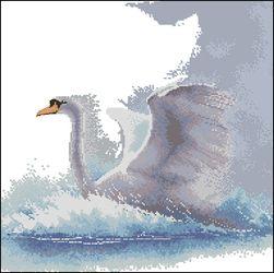 Лебедь в полете-Heritage