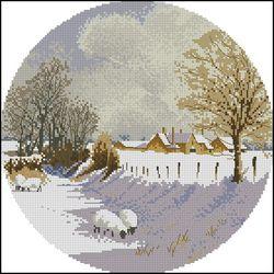 Зимний пейзаж-Heritage