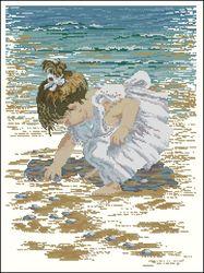 Собирая морские камушки-Janlynn