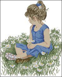 Милая девчушка-Janlynn