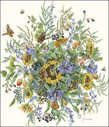 Цветы и бабочки-Lanarte