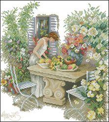 Отдых в саду-Lanarte