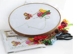 схемы и статьи по вышивке