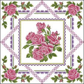 Сад роз-Подушка