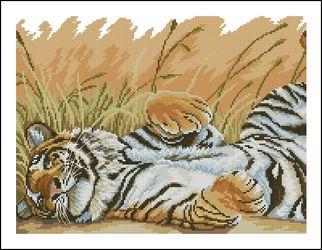 Спящий тигр-Животные