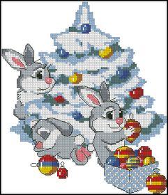 Риолис-Рождественские кролики