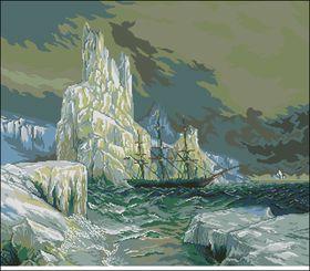Северные мореплаватели-Вышитые картины