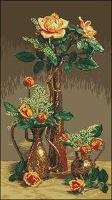 Розы-Вышитые картины
