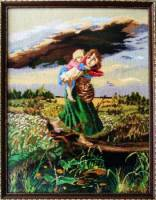 Дети бегущие от грозы.
